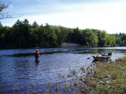 Kingfisher river guides areas guided for Fishing resorts near me